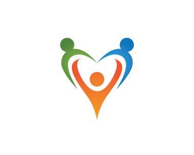 Love family life logo