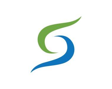 S logo infinity