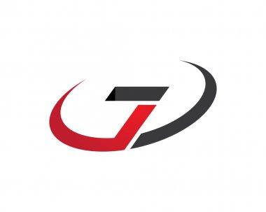 Z letter drop shadow unik logo