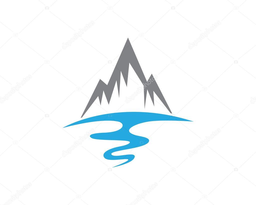 mountain beach wave logo � stock vector 169 elaelo 98154802