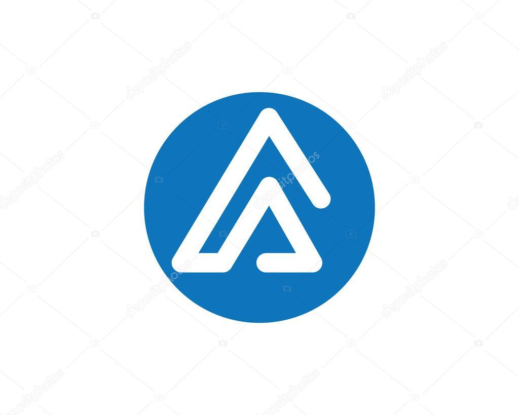 Mountain beach wave  logo