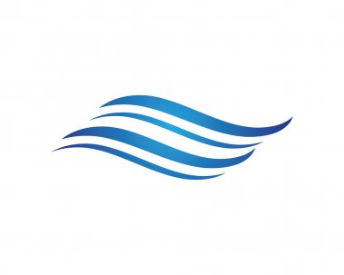 Wave beach logo