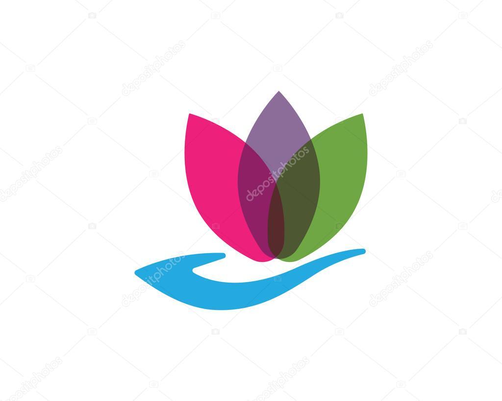 Lotus flower spa flowers ideas for review lotus flower spa logo stock vector izmirmasajfo Gallery