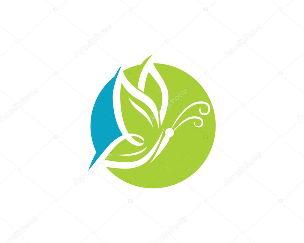 butterfly flower logo � stock vector 169 elaelo 99869278