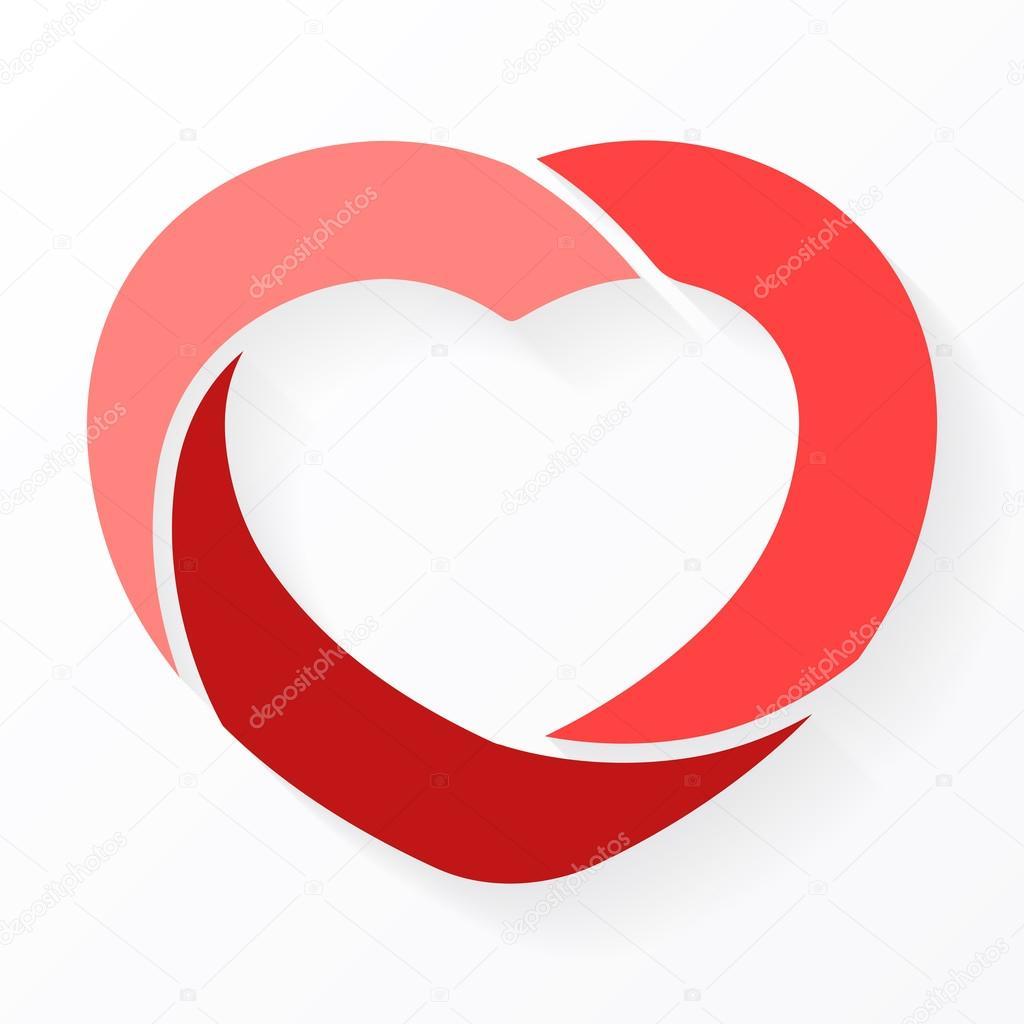 Infografía de círculo de corazón. Plantilla de diagrama de ciclo de ...
