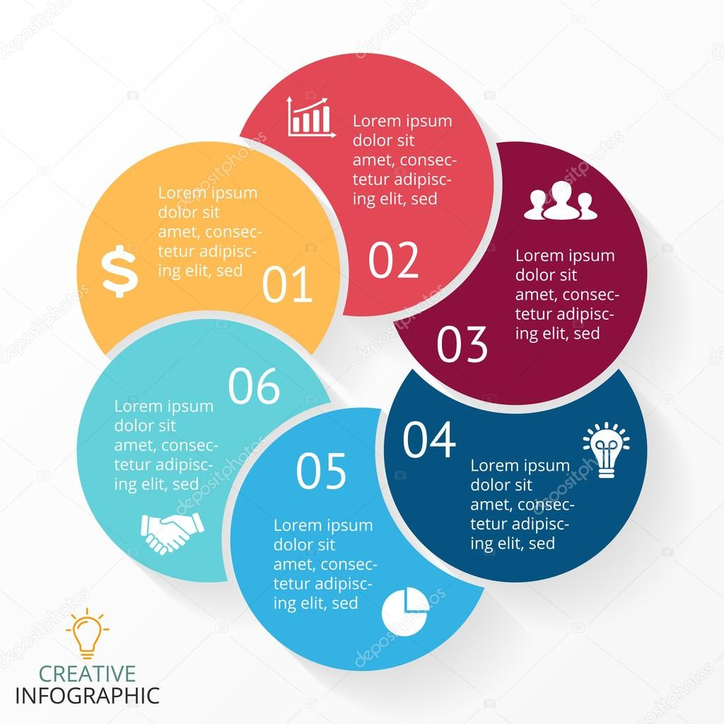 Vector circle arrows infographic cycle diagram graph presentation vector circle arrows infographic cycle diagram graph presentation chart business concept with ccuart Images