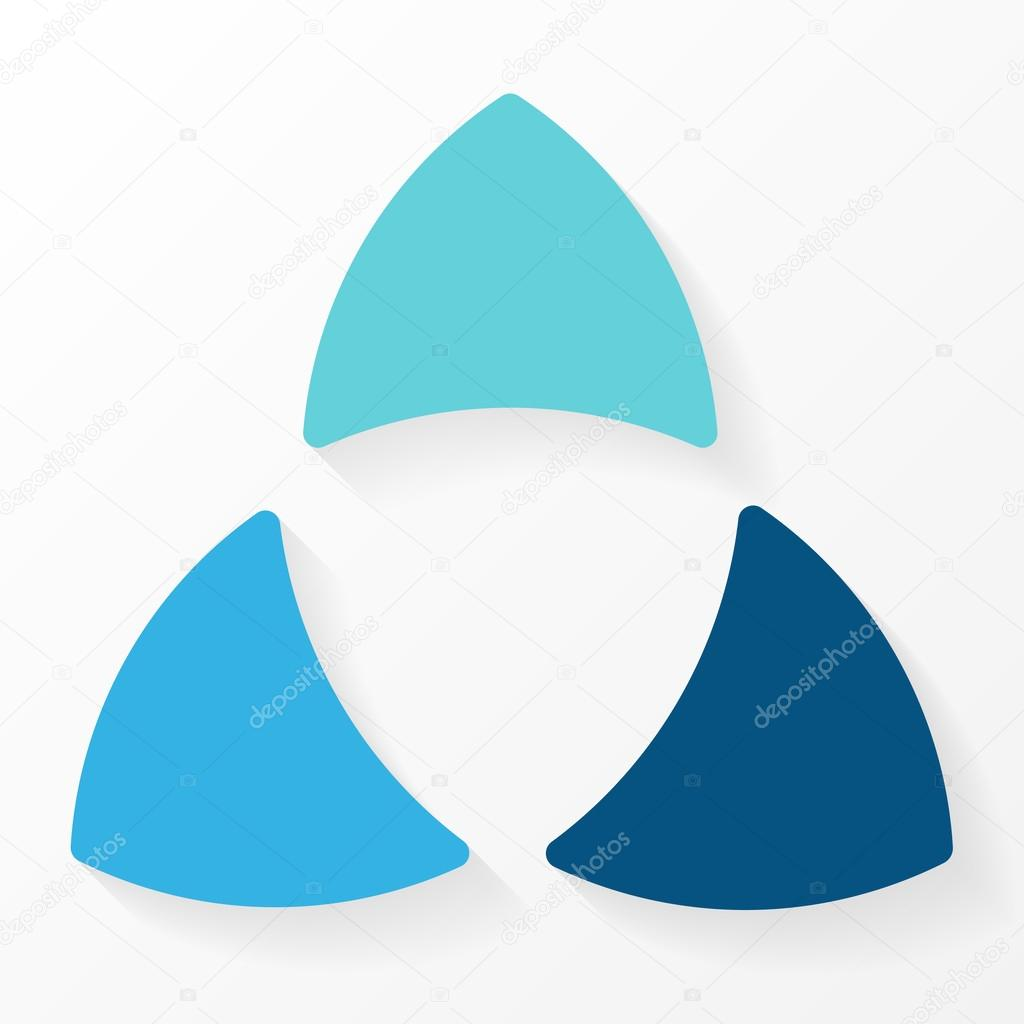 Process cycling arrow by arrow royalty free stock images image - Circle Arrows Diagram For Graph Infographic Presentation With Steps Parts Options Photo By Theseamuss