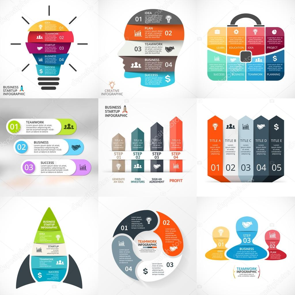 Cycle infographic design Vector  Free Download