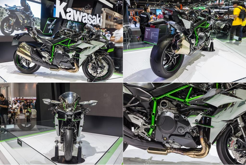 Kawasaki Ninja H2 showed in 31th Thailand International Motor Ex