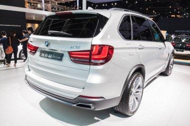 Rear of BMW X5 eDrive on display