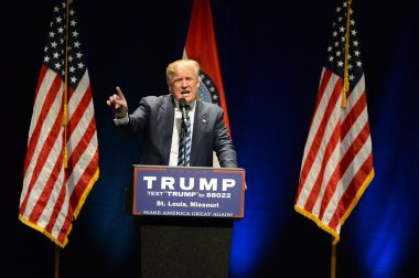 Donald Trump Campaigns in St. Louis