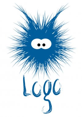 Fluffy, hairy, furry, fuzzy logotype