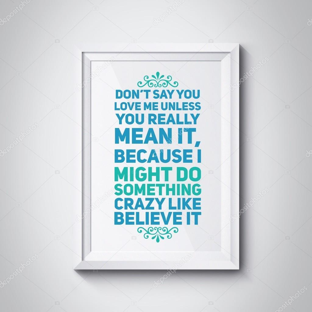 Inspiration-Zitat auf Fotorahmen — Stockfoto © chayathon #108877860
