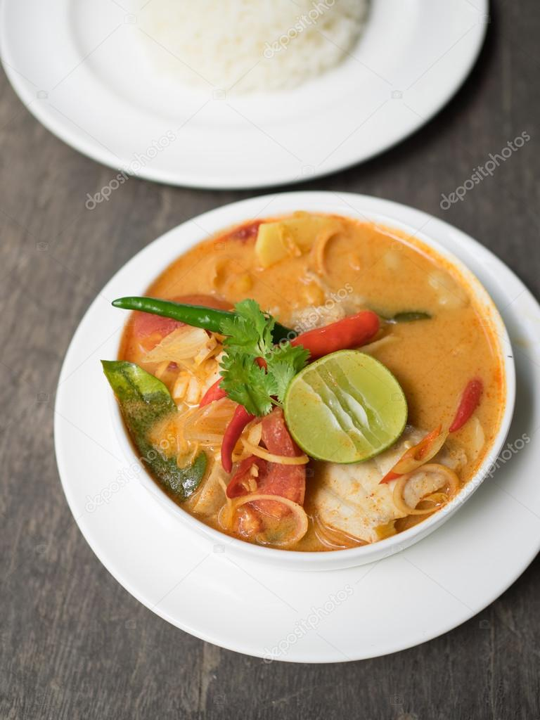 Thai Food  Tom Yum soup