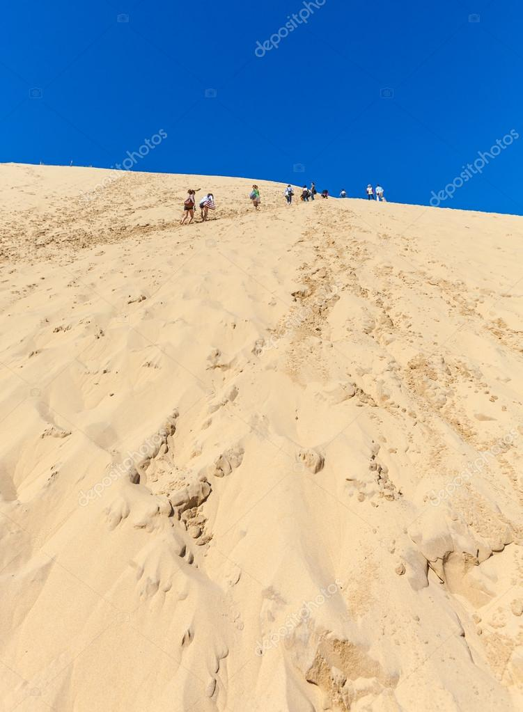 View From Dune Of Pyla Arcachon Bay Stock Photo C Rostislavv