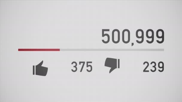 Video čítač počítá až na 1 miliardu názory