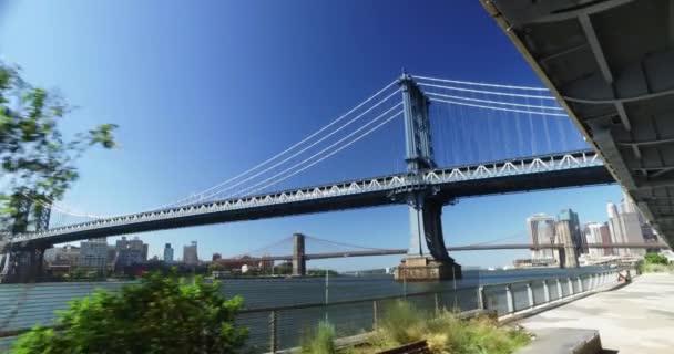 Délka dne založení Shot Manhattan Bridge