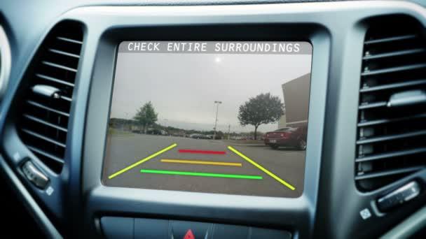 Vozidlo záložní kamera
