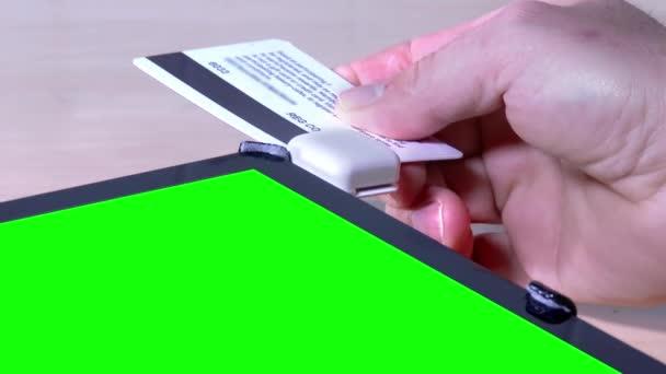 4 k ellop hiteletek kártya zöld képernyő tábla Pc-3949
