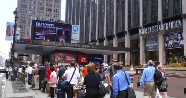 4k Madison Square Garden létrehozása shot