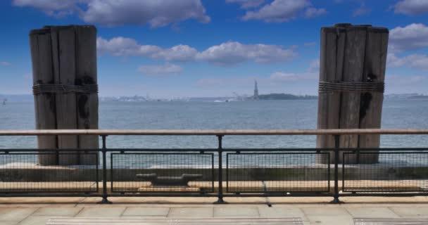4 k Ellis Island View, a Battery Park