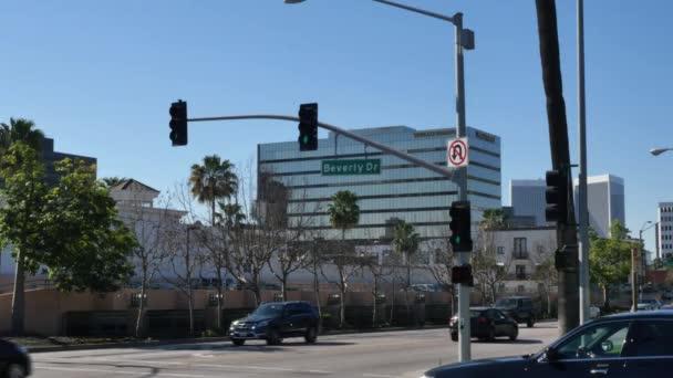 Beverly Hills Establishing Shot