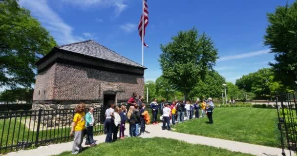 Pittsburgh Fort Pitt blokk ház létrehozó lövés