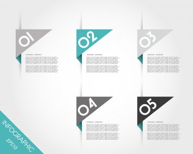 turquoise triangular modern stickers