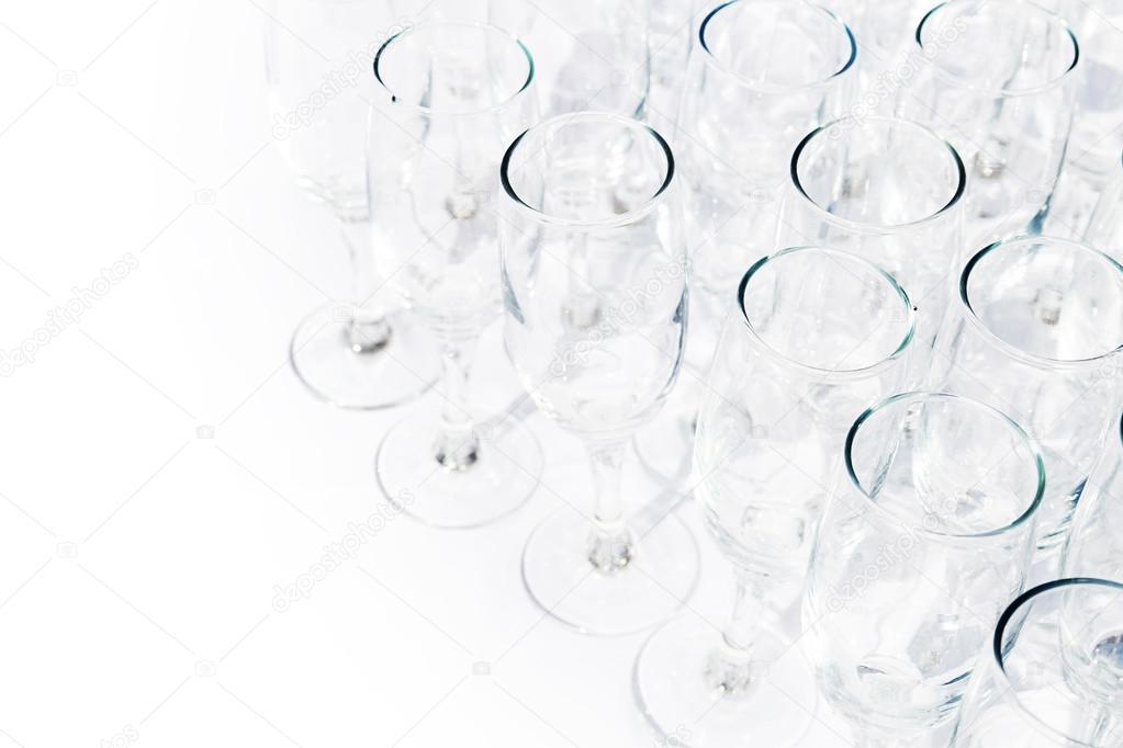 Wiersz O Okulary Champange Zdjęcie Stockowe Annamoskvina