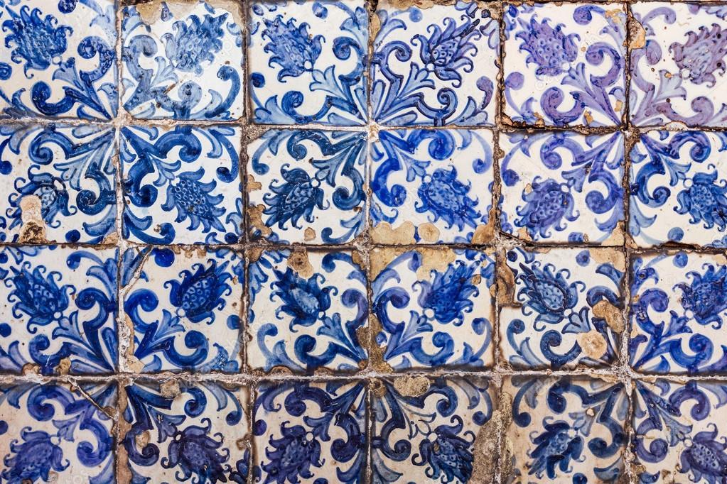 Azulejos   Piastrelle Da Portogallo U2014 Foto Stock