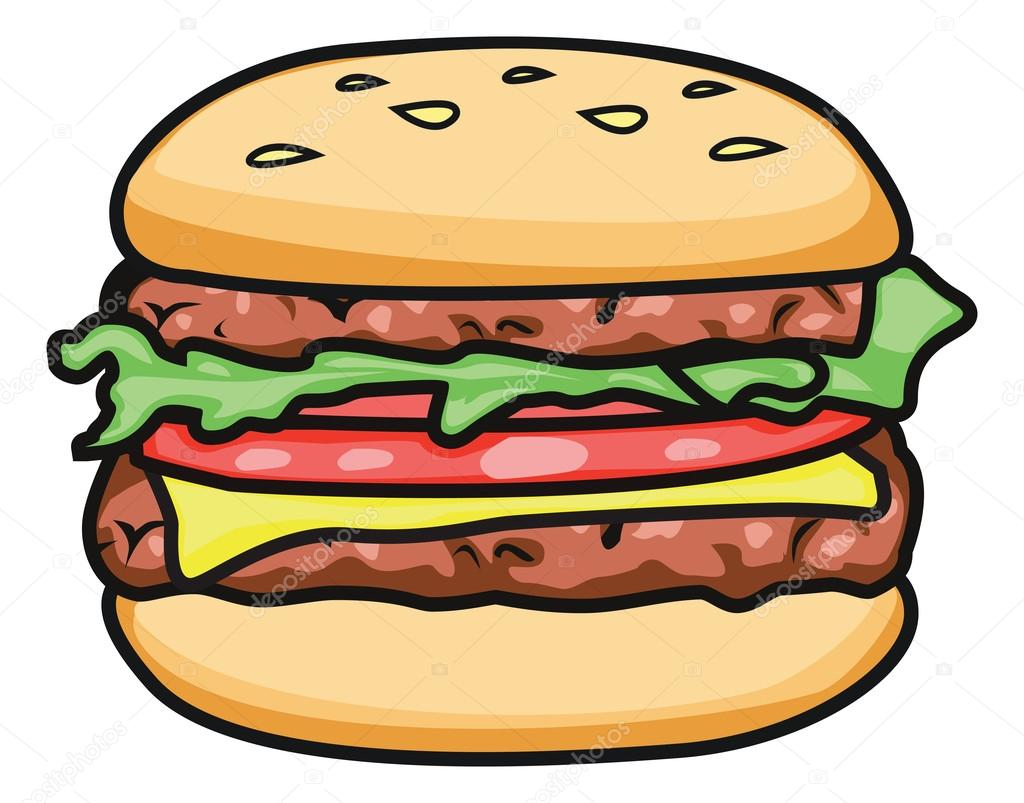 burger and fries clipart restaurant stock vector kozzi2 107879622 rh depositphotos com burger clipart black and white burger clipart transparent