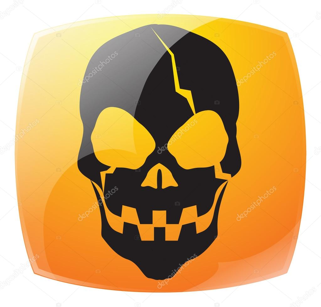 Cartoon Skulls And Faces Stock Vector Kozzi2 107938424