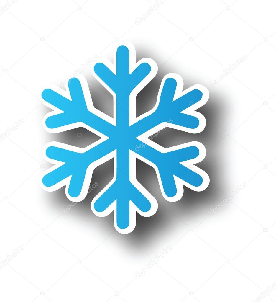 Schneeflocke-Symbol clipart — Stockvektor © kozzi2 #108035528