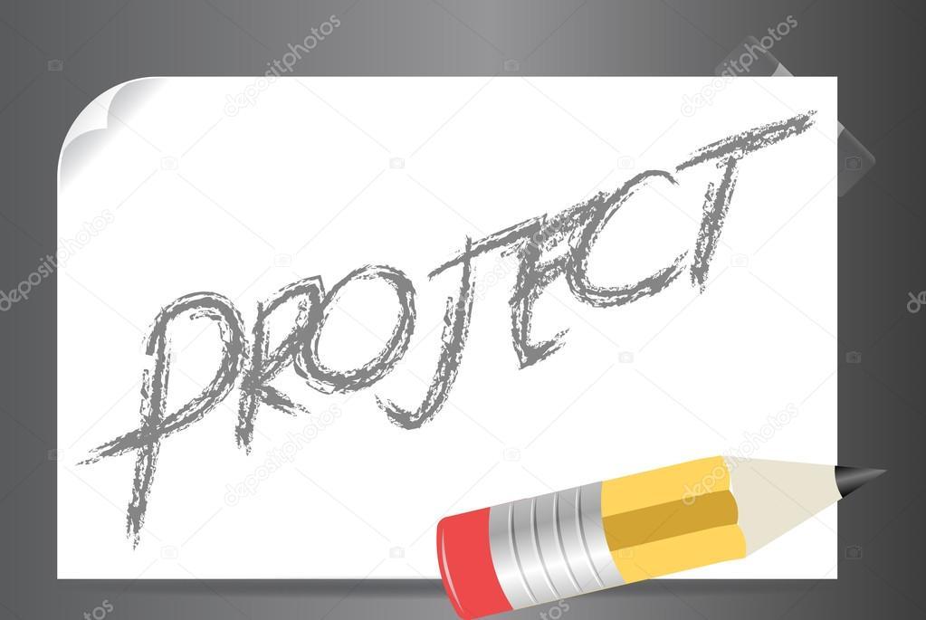 Clipart: project clip art | Vector project clipart illustration — Stock  Vector © kozzi2 #108307290