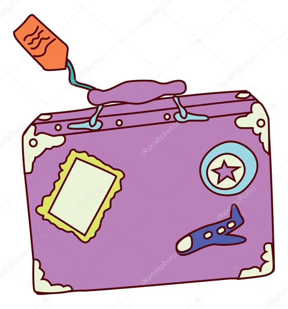 旅行荷物イラスト — ストックベクター © kozzi2 #108309652