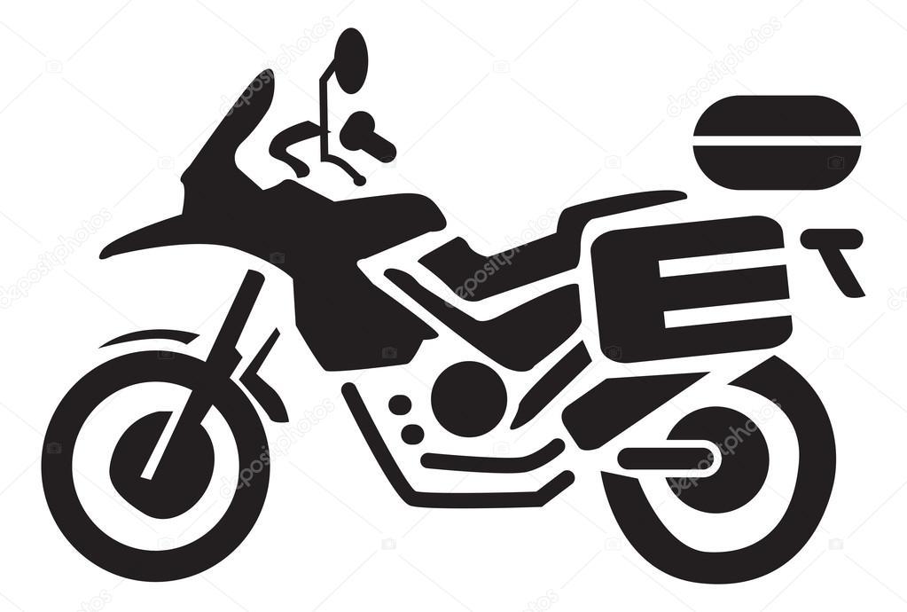 Motorcycle Icons Clipart Illustration Stock Vector C Kozzi2 108317436