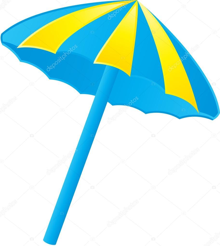Ilustración de un parasol — Archivo Imágenes Vectoriales © kozzi2