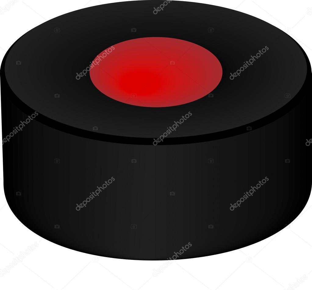 Vektor-Bild von Hockey puck — Stockvektor © kozzi2 #108708706