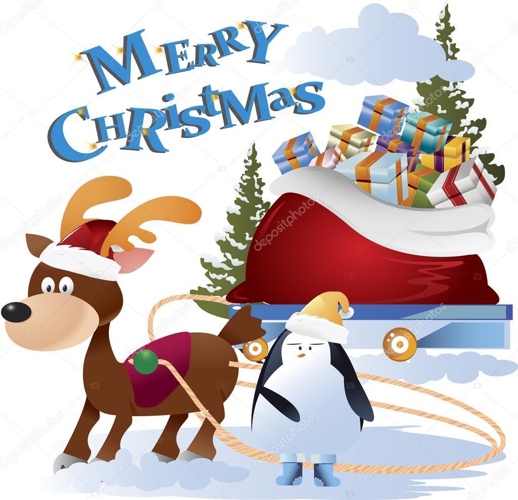 ClipArt Weihnachten Konzept Hintergrund — Stockvektor © kozzi2 ...