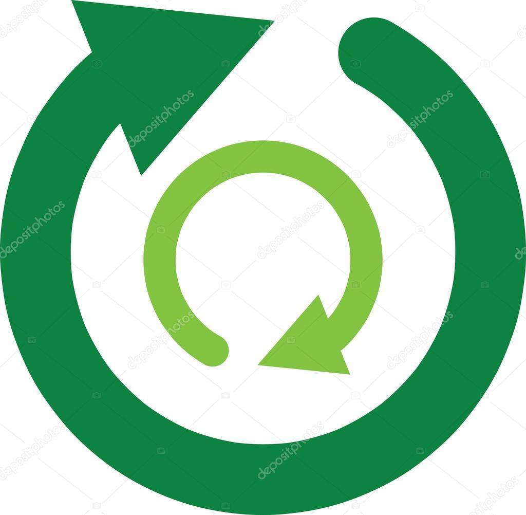 Recycling Symbol Clipart Illustration Stock Vector Kozzi2 108976148