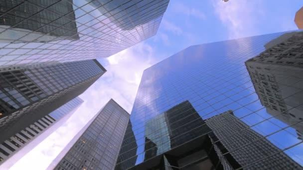 Mrakodrapy v New Yorku finanční čtvrť