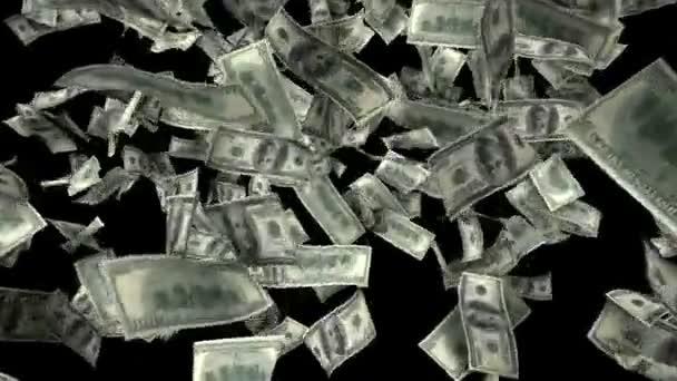 Sto dolarů bankovky exploze