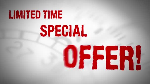 Limited time special offer loop