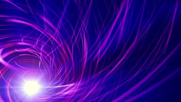 fialová spirála nosníky