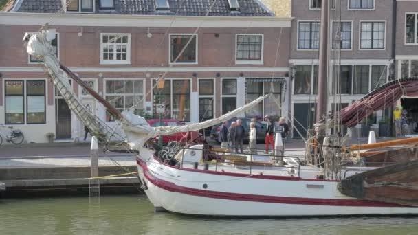 Hoorn Harbor in the Netherlands