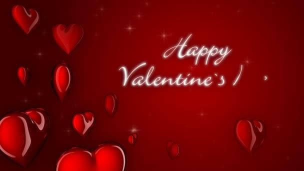 Valentinskarte-Herzen-Symbole
