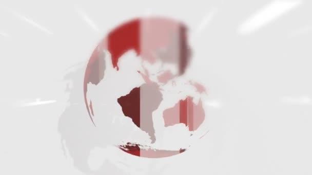 Úvod Novinky, animovaný, otáčení zeměkoule