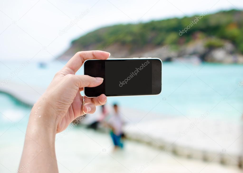 smart phone background sea