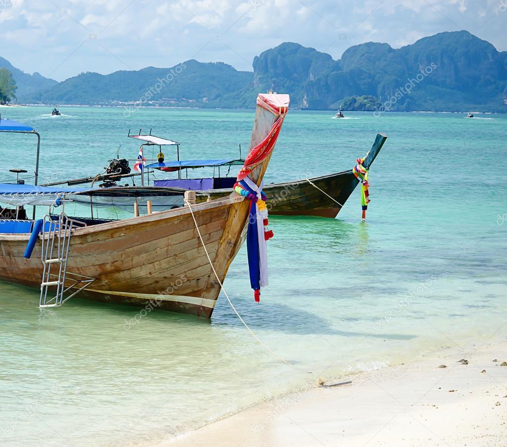 Andaman Sea and boat