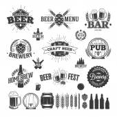Photo Beer Label and Logos